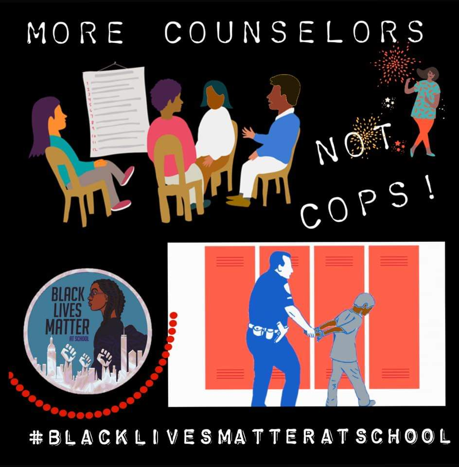 CounselorsNotCops: Black Girl at Pennsylvania high school