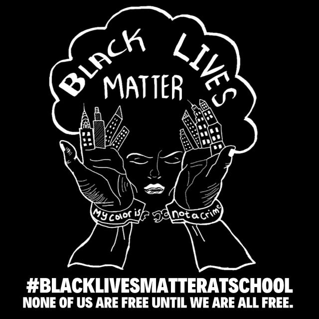 The T Shirt Black Lives Matter At School